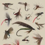 George Norlin fly fishing collection