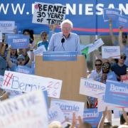 Bernie Sanders at CU-Boulder
