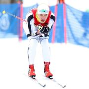 Magnus Boe skiing