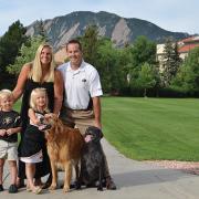 photo of ryan chreist and family
