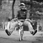 allen on bike