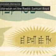 Coloradan on the radio