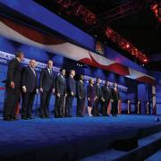 Contenders for the Republican nomination for president prepare for debate