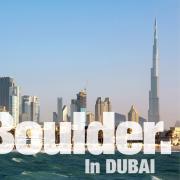 Be Boulder. In Dubai