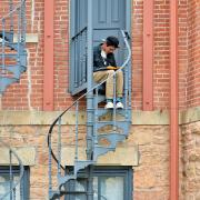 old main fire escape