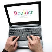Boulder in Google letters