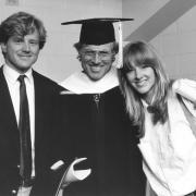 Photo of Robert Redford at CU Boulder