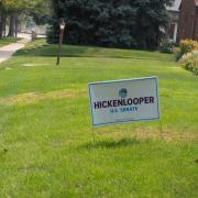 Hickenlooper for Senate Lawn Sign