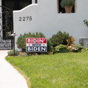 Riden with Biden Lawn Sign