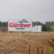Gardner for Senate Law Sign