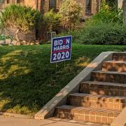 Biden Harris Lawn Sign