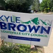 Kyle Brown Lawn Sign
