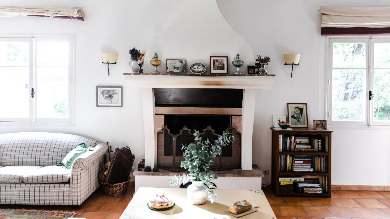 Inside Julia Child's house