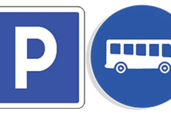 Parking and Shuttle Signs