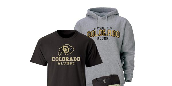 CU Alumni hoody and t-shirt