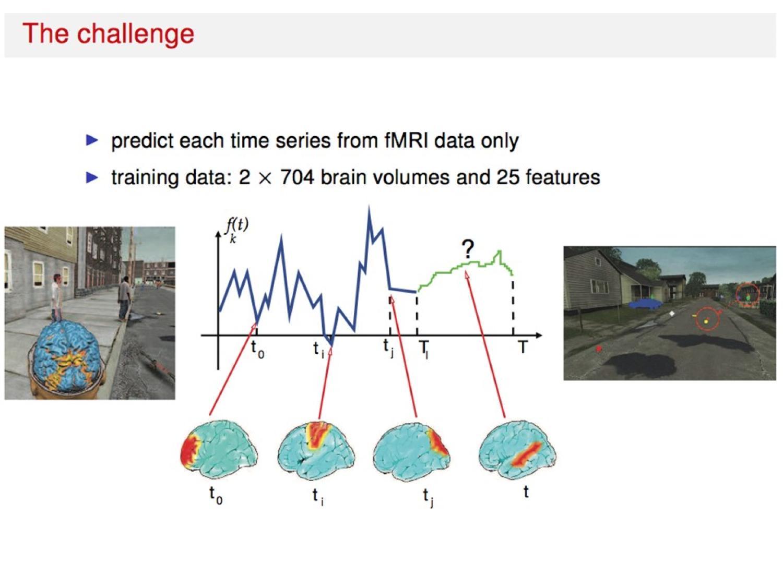 Functional MRI (fMRI) image data analysis.