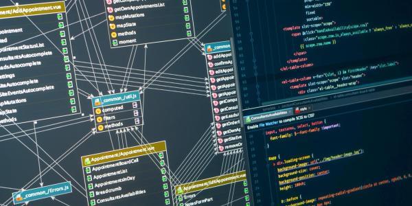 A computer screen showing an integrated development environment