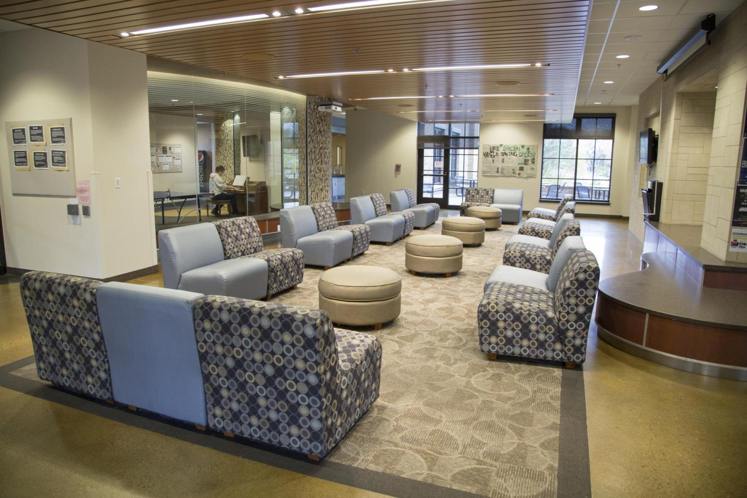 Williams Village North lounge interior
