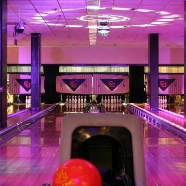 Bowling alley at The Connection in the UMC