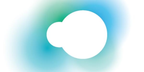silvercloud logo with a dot