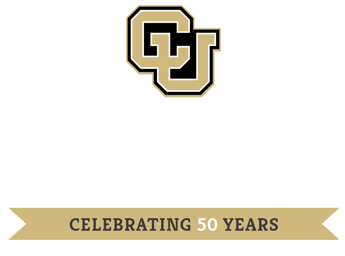 Department 50th anniversary logo