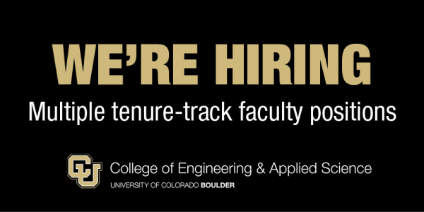 We're hiring multiple Tenure-Track Faculty positions