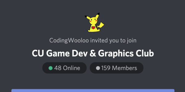 cs game development and graphics club discord