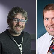 Shaun Kane, Eric Keller of computer engineering, and Jordan Boyd-Graber.