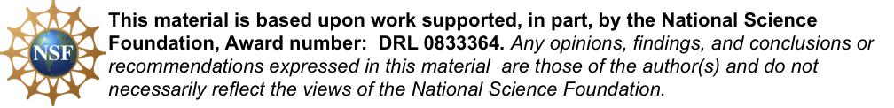 NSF disclaimer