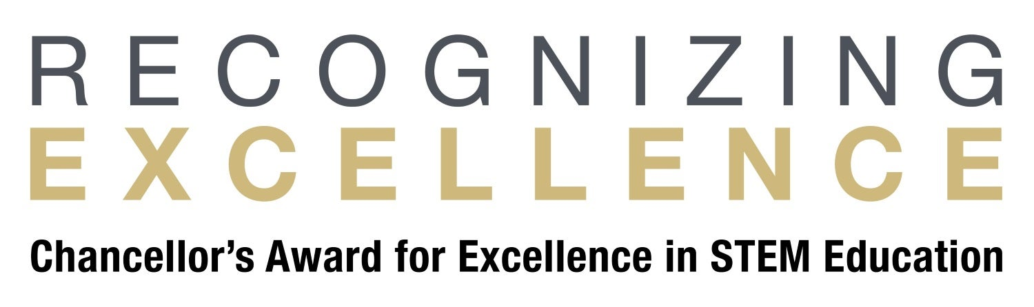 recognizing excellence chancellor award logo