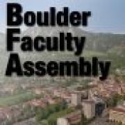 Boulder Faculty Assembly logo