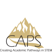 Mountainous logo for Creating Academic Pathways in STEM