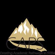 Mountainous logo for Creating Academic Pathways in STEM