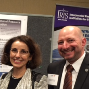 Noah Finkelstein and NSF Director France A. Cordova