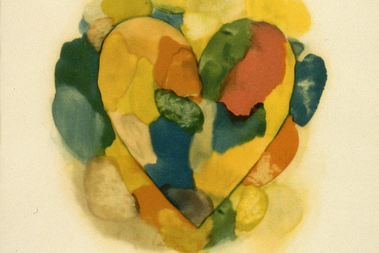 print of a heart shape