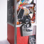 A gumball machine