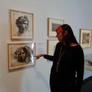 Thora Brylowe in the gallery