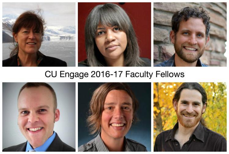 CU Engage announces new faculty fellows