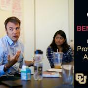 Ben Kirshner receives Provost's Faculty Achievement Award