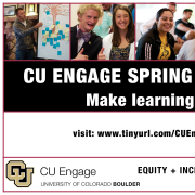 CU Engage Spring Courses 2017