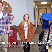 wheelchair canopy assistive technology faculty fellows