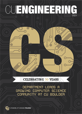 CU Engineering Spring 2021 Issue cover