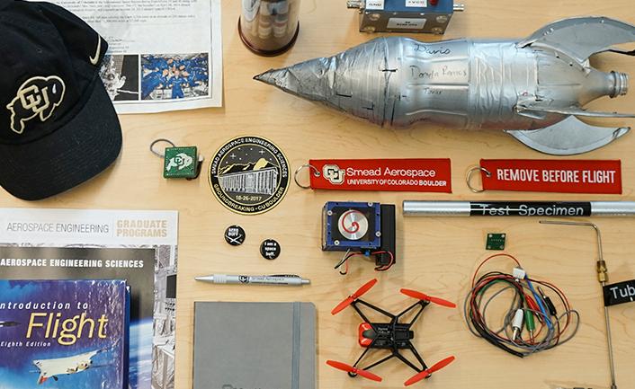 Aerospace building time capsule
