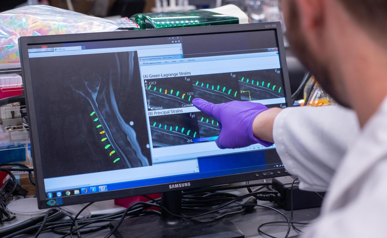 Biomed Lab computer