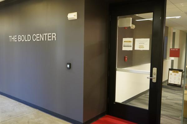 Bond Center Front Door