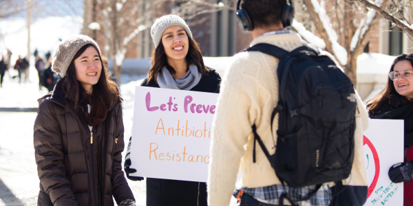 student activists: ARMOR