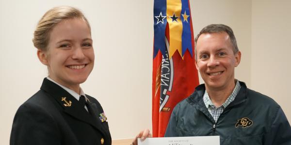 Midshipman Gemma Nowak, U.S. Navy ROTC