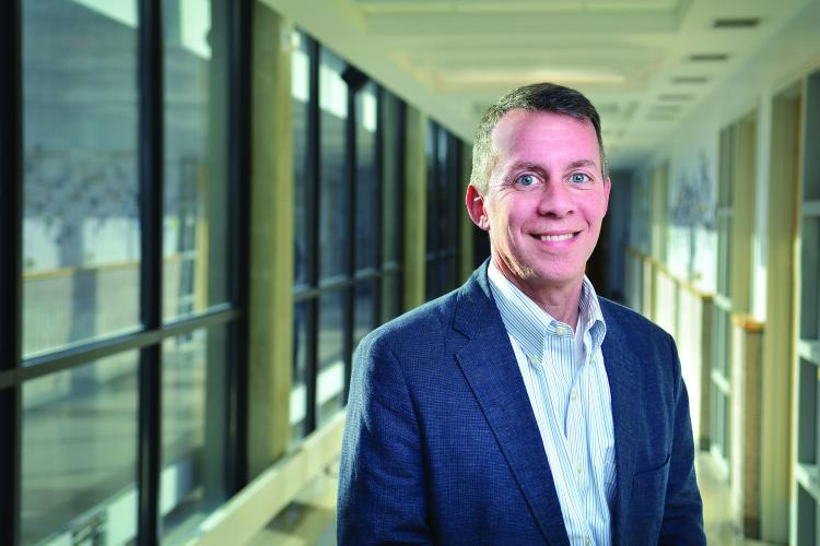CU Boulder's College of Engineering and Applied Science Dean Bobby Braun