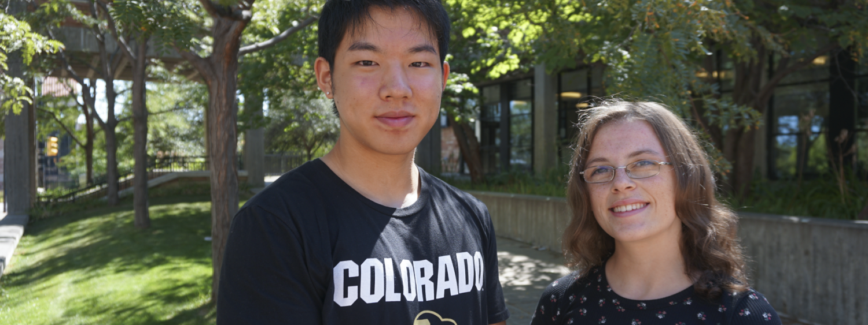 Wesley Shen and Sarah Foley