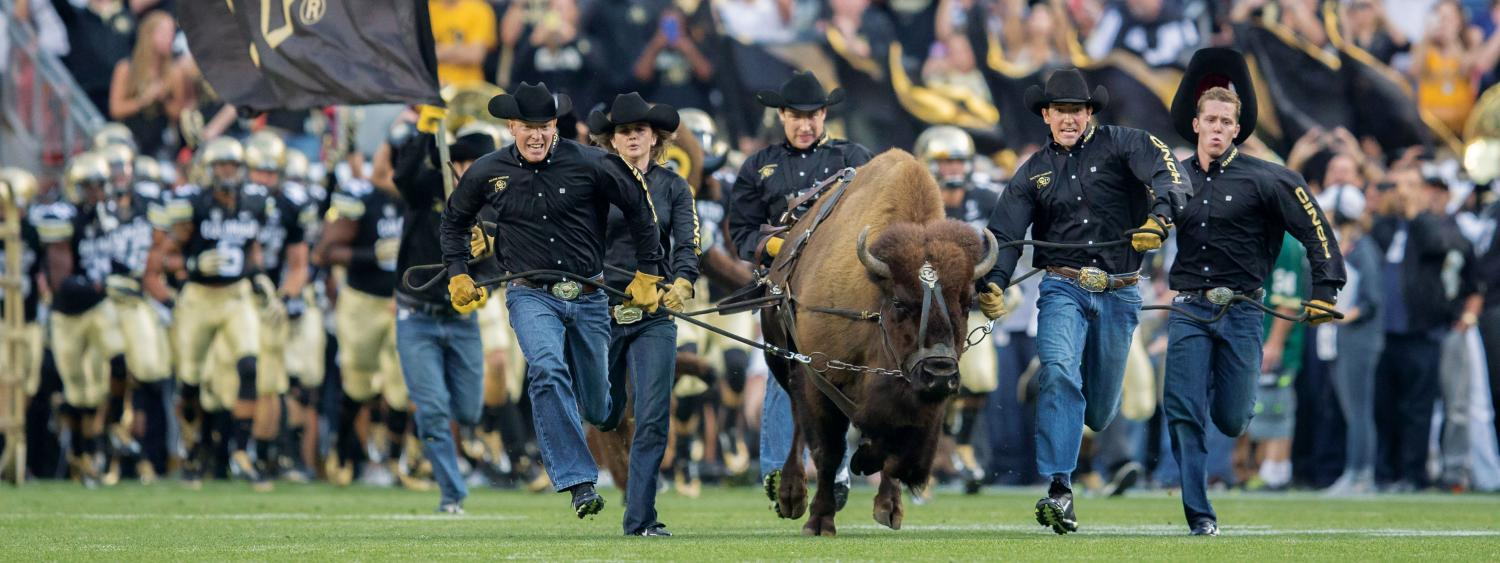 Here comes Ralphie